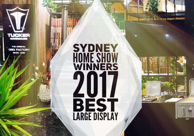 Tucker Barbecues wins Sydney Home Show 2017
