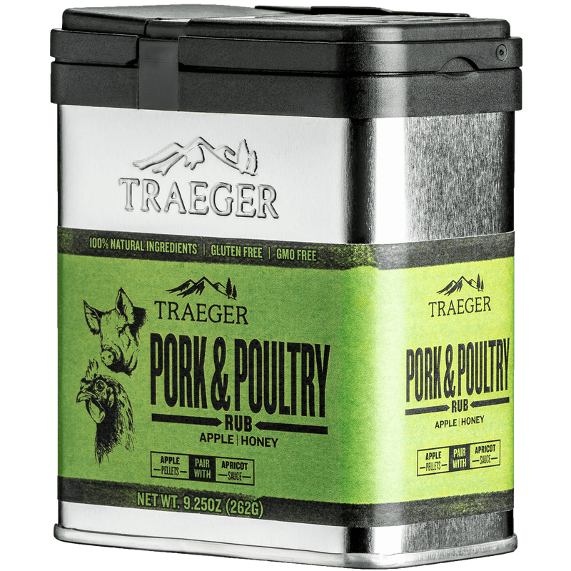 Traeger Pork & Poultry Rub 262g, BBQ Accessories, Traeger