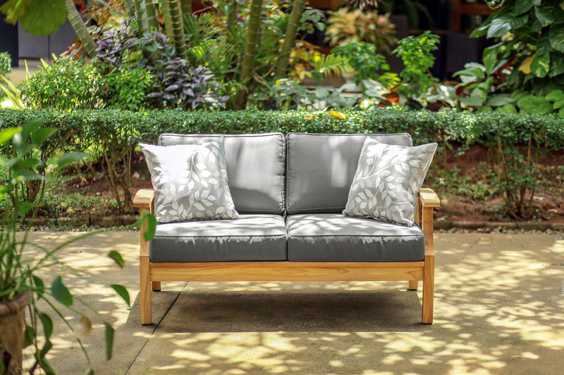 East India Lombok Two Seater Sofa with Cushions