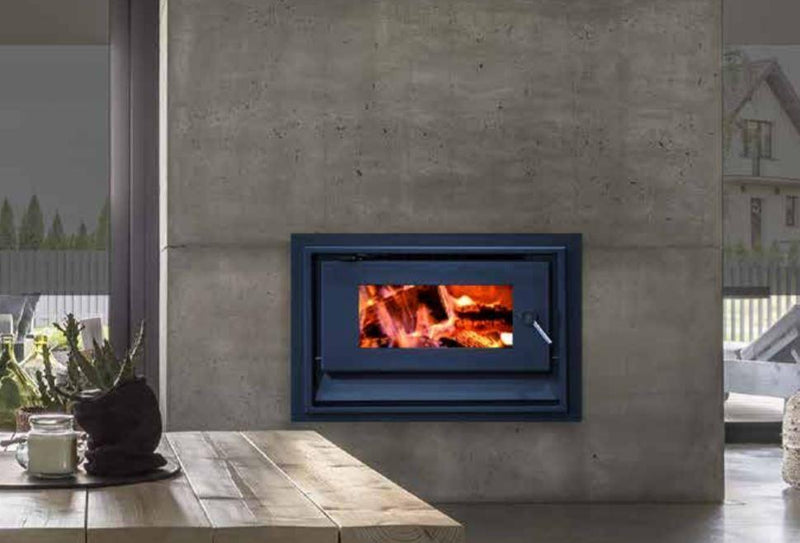 Blaze 820 Inbuilt Wood Fire, Heater, Pecan Engineering