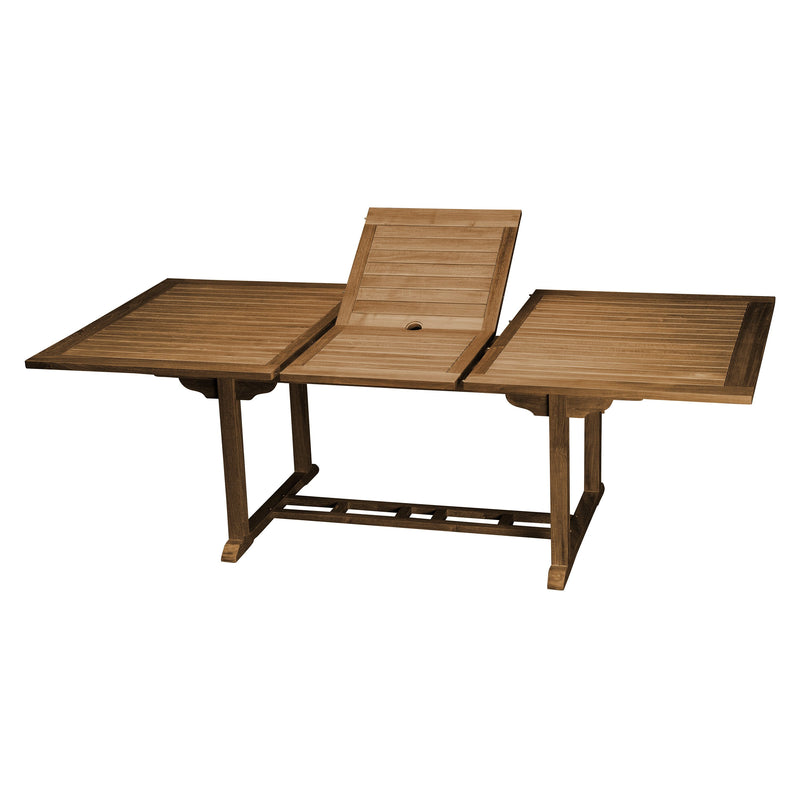 East India Kingston Double Extension Table 3000-2500-2000 x 1000mm, Furniture, East India Trading