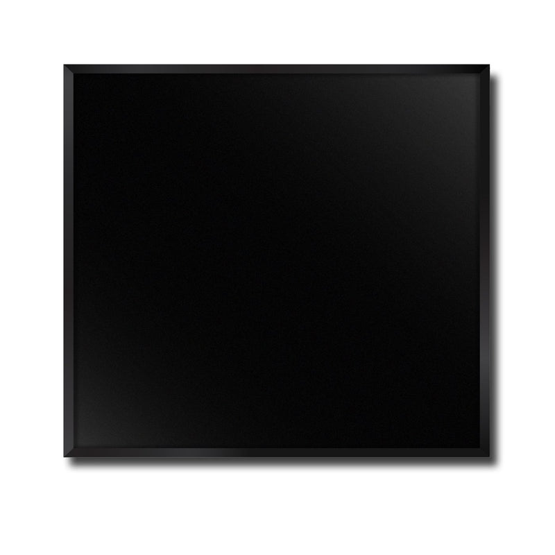 Classic Black Flat Glass Door, Kitchen Product, tuckeraustralia