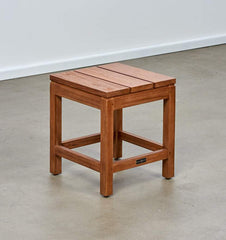Melton Craft Bairo Teak Stool, Furniture, Melton Craft