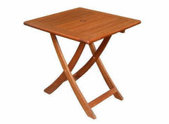 Kwila Beachworth 700mm Square Folding Table, Furniture, Swifts