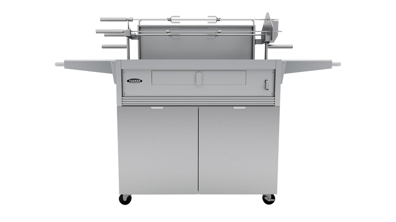 Tucker Charcoal Deluxe with 3 Rod Rotisserie & Cabinet, BBQ, Tucker Australia