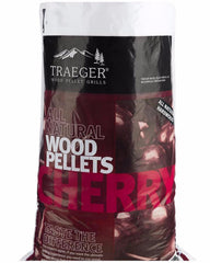 Traeger Cherry Pellets 9Kg Bag, BBQ Accessories, Traeger