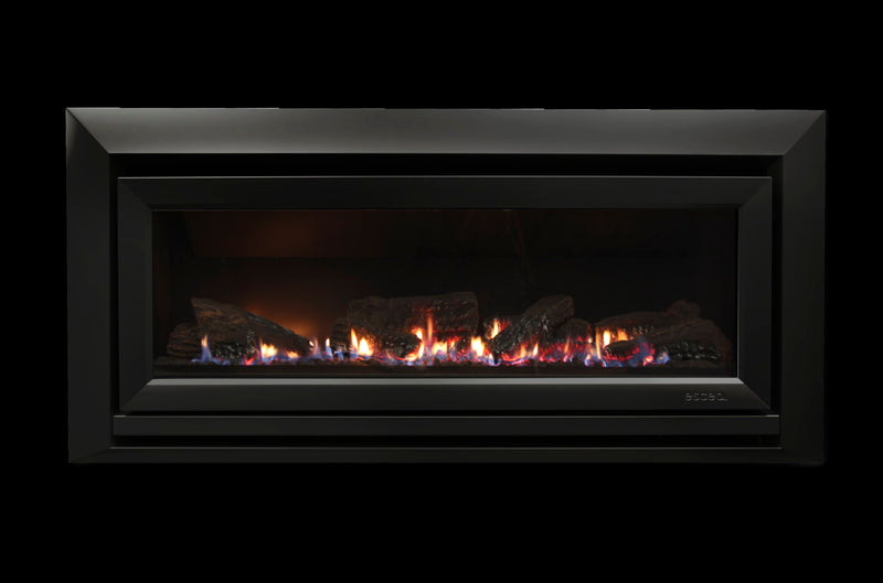 Escea DL1100 Gas Fireplace, Heater, Glen Dimplex