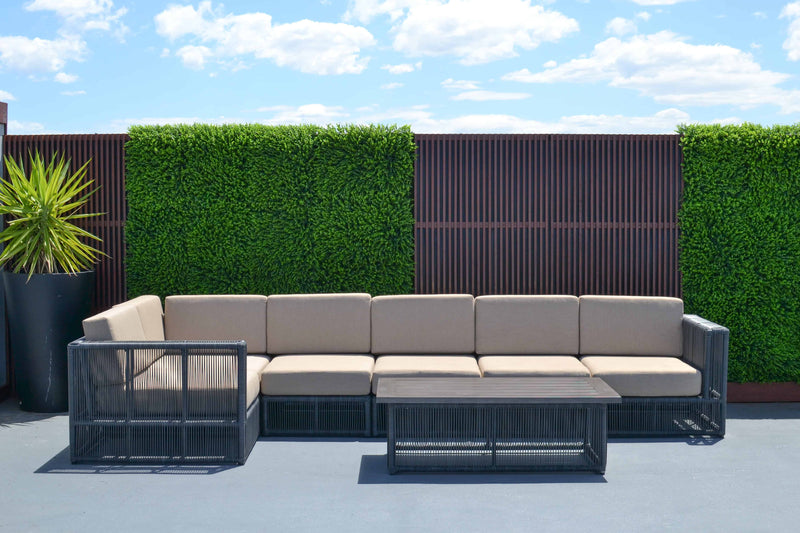 Tucker Karma 7 Piece Modular Lounge Setting, Furniture, Tucker from the original BBQ Factory
