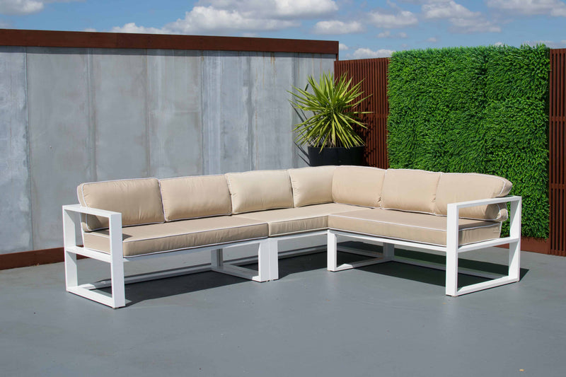 Tucker Miami 4 Piece Lounge Setting