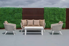 Tucker Tiki 4 Piece Lounge Setting with 3 Seater Lounge, Furniture, Tucker from the original BBQ Factory