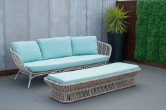 Tucker Oasis 3 seater lounge & Ottoman Piece