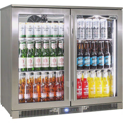 Rhino Outdoor ENVY 2 Door 316 SS Bar Fridge, , Rhino