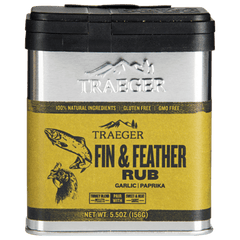 Traeger Fin & Feather Rub 156g, BBQ Accessories, Traeger