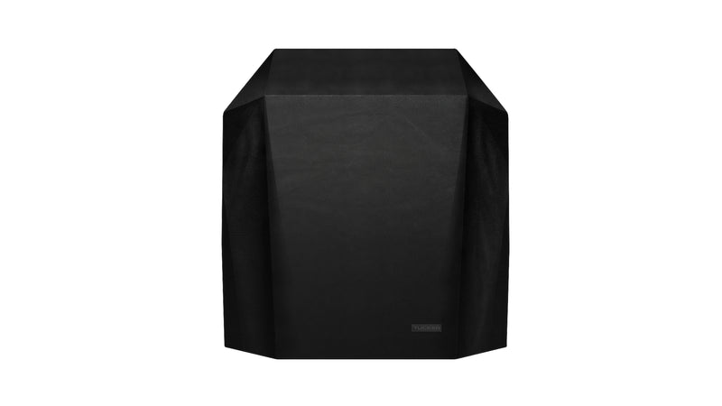 shelf closed BBQ cover black for outdoor area and weather proof