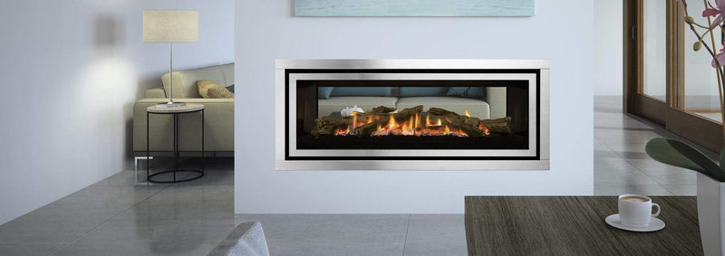 Regency Greenfire GF1500LST See Thru Gas Fireplace, Regency, Regency Wood & Gas Heating