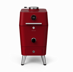 Everdure by Heston Blumenthal 4K Electric Ignition Charcoal BBQ Oven (Red), Everdure BBQs, Everdure