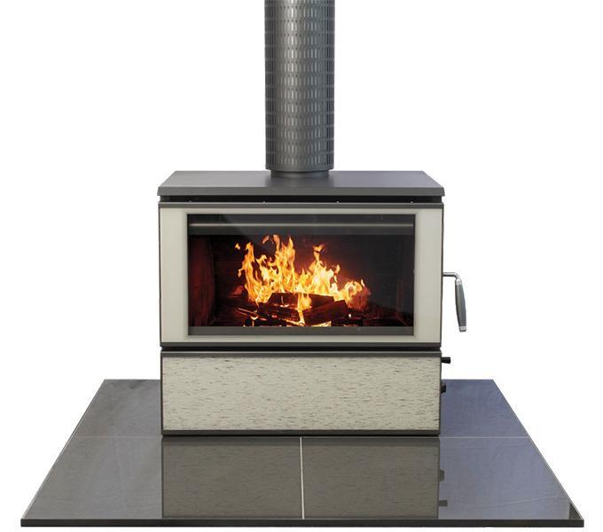 Heatcharm C600 Series 8 Freestanding Woodheater, Heatcharm, n/a