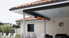 Ambe RiR2000 Slim Outdoor Electric infrared Heater, Heater, Ambe