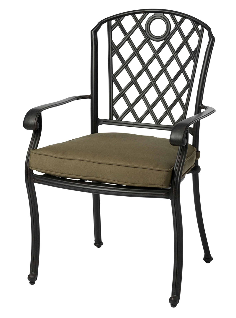 Melton Craft Whitehorse Chair with Cushion, Furniture, Melton Craft