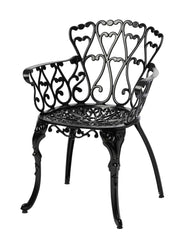 Melton Craft Cast Aluminium Scroll Chair - Tucker Barbecues