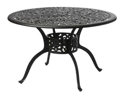 Melton Craft 122cm Round Cast Aluminium Dining Table, Furniture, Melton Craft