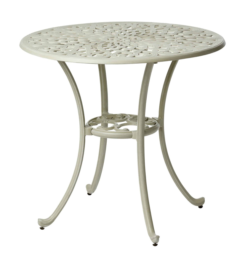 Melton Craft LD42NC Capri 76cm Round Cast Aluminium Table, Furniture, Melton Craft