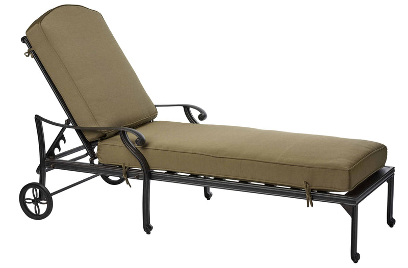 Melton Craft LD8176-9 Sunlounge with Cushion, Furniture, Melton Craft