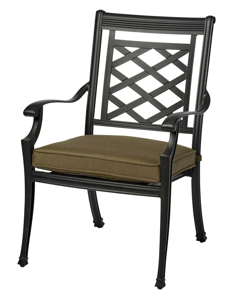 Melton Craft Yarra Chair with Cushion, Furniture, Melton Craft