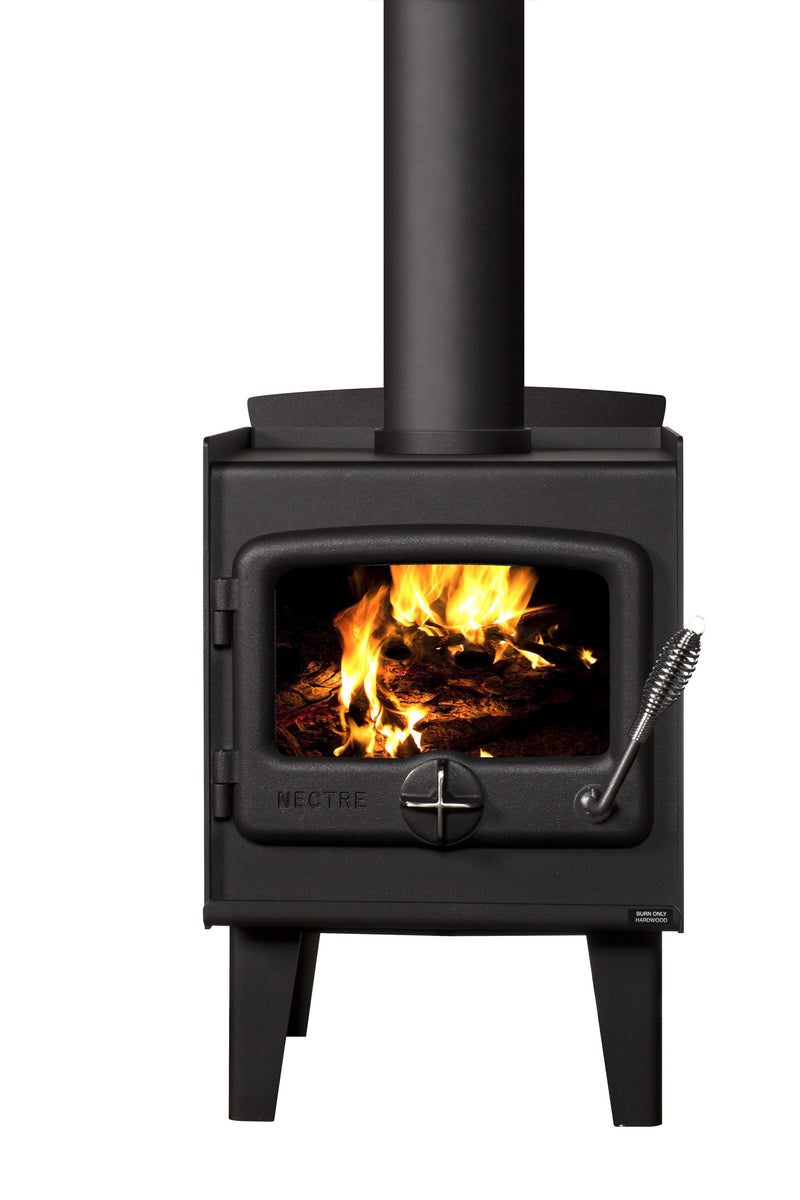 Nectre N15 Wood Fire, Heater, Pecan Engineering