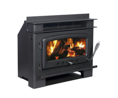 Nectre Inbuilt Wood Fire, Heater, Pecan Engineering