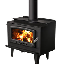 Nectre MK2 Wood Fire, Heater, Pecan Engineering