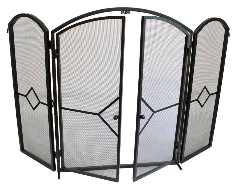 FireUp Opening Fire Screen with Gate, Heater Accessories, S&D Berg