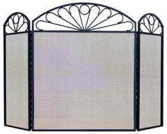 FireUp Three Fold Pattern Fire Screen, Heater Accessories, S&D Berg