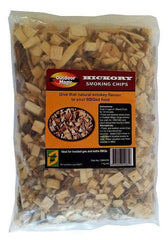 Outdoor Magic Hickory 1kg Smoking Chips, BBQ Accessory, S&D Berg