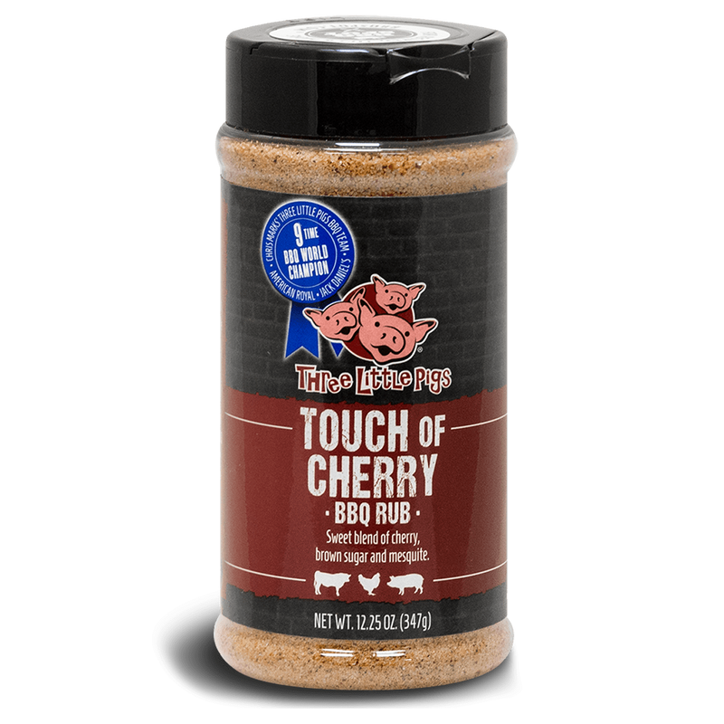 Three Little Pigs Touch of Cherry BBQ Rub, Accessory, Hark