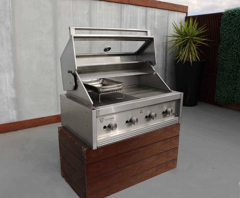 Tucker R Class V8 BBQ Built In, BBQ, Tucker Barbecues