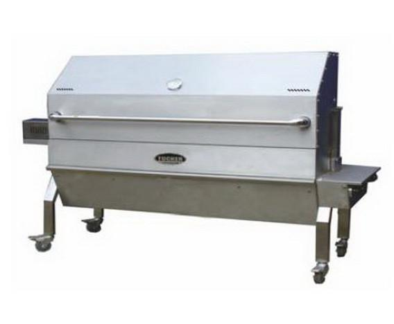 Tucker Full Hooded Charcoal Spit, BBQ, Tucker Australia