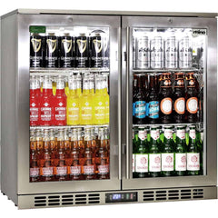 Rhino SS 2 Door Bar Fridge, Fridges & Coolers, Rhino