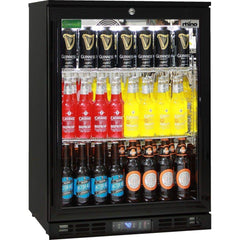 Rhino Black Commercial Glass Door Bar Fridge, Fridges & Coolers, Rhino
