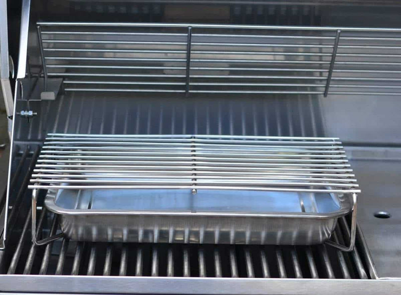 Tucker R Class V8 BBQ Built In with Lid, BBQ, Tucker Barbecues