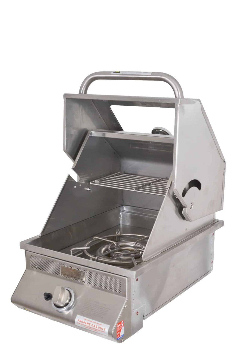 Tucker SS Wok Built In Roasting Hood