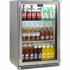 Schmick 304 Stainless Steel Single Door Bar Fridge - SK118L-SS