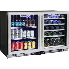 Schmick Under Bench Beer And Wine Fridge Combination - JC132-Combo