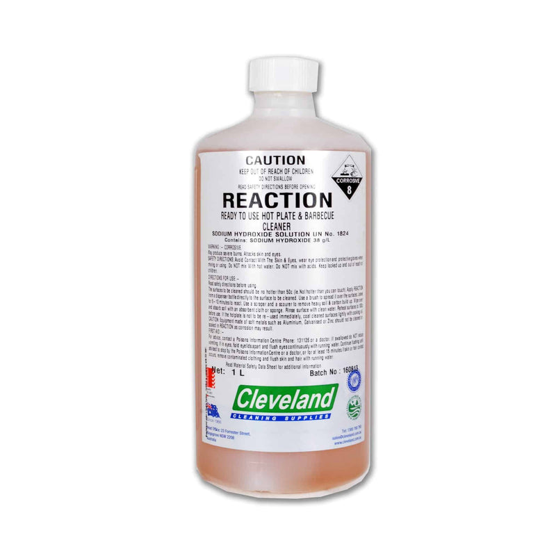 Reaction BBQ Cleaner 1L, Accessory, Cleveland