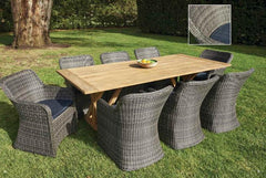 Melton Craft 9 Piece Miami Setting, Furniture, Melton Craft