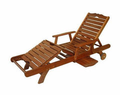 Kwila Deluxe Pool Lounger, Furniture, Swifts