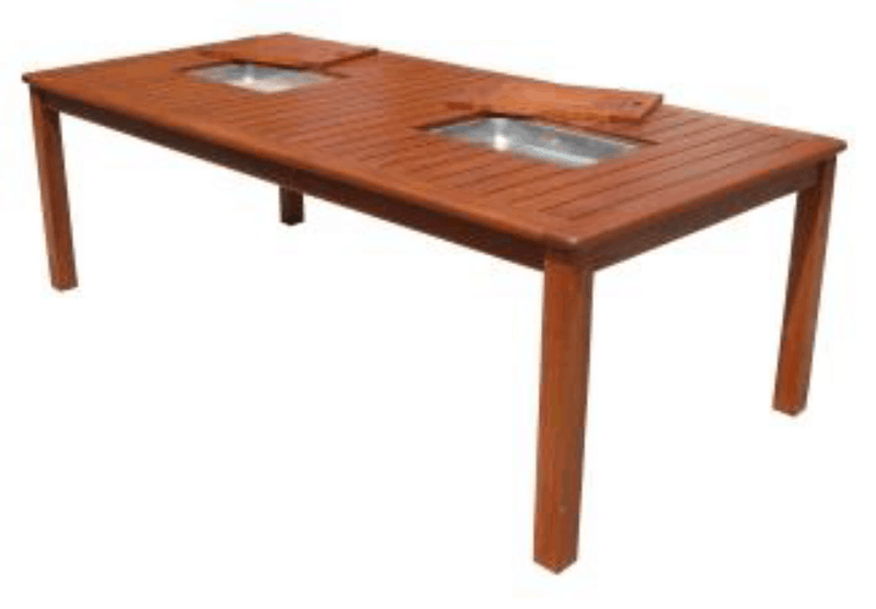 Kwila Entertainer 2300 x 1100mm Table, Furniture, Swifts