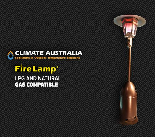 Fire Lamp Outdoor Gas Heater, Heater, Climate Australia