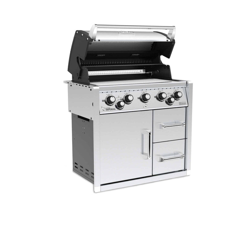 Broil King Imperial 590 Built-In Cabinet BBQ, BBQ, Broil King