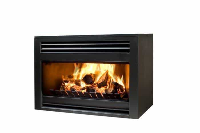 Heatmaster A Series 750 Indoor Open Wood Fireplace, Heater, Heatmaster